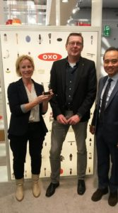 OXO Award 'Best distributor 2016' - uitreiking Ambiente 2017